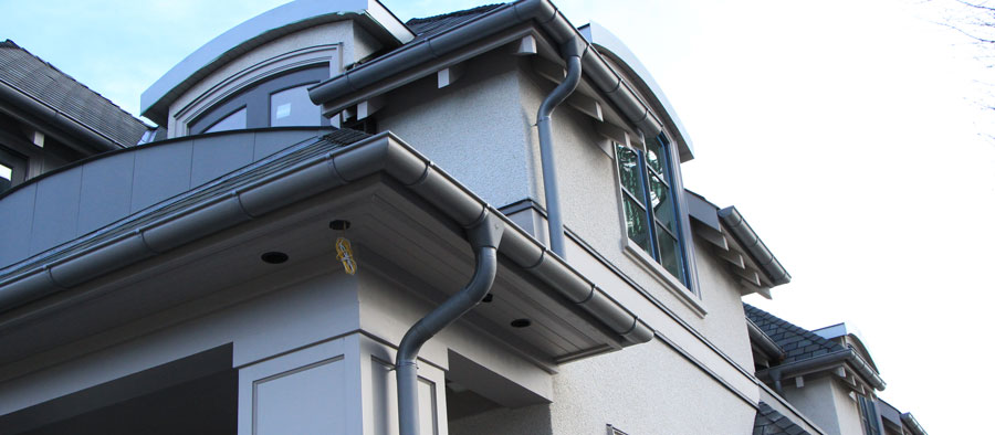 How to Clean Gutters & Installing Gutters | Copper