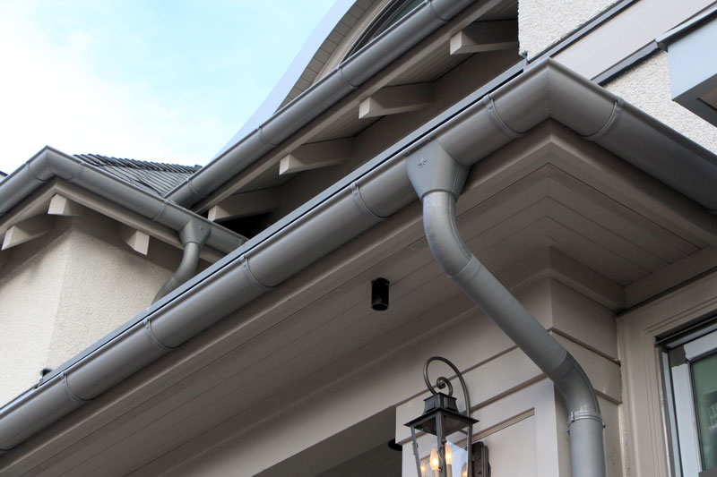Premium Euro-Style Gutter Systems - Vancouver, Surrey, North Vancouver, West Vancouver - Ask us about European Gutters Installation and maintenance.