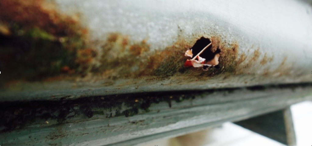 Corrosion on Gutters