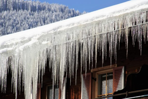 Protect your gutters from ice and snow - Weatherguard Gutters